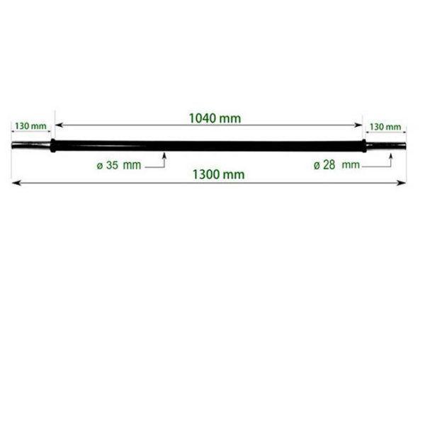 1660 Super Pump Barbell
