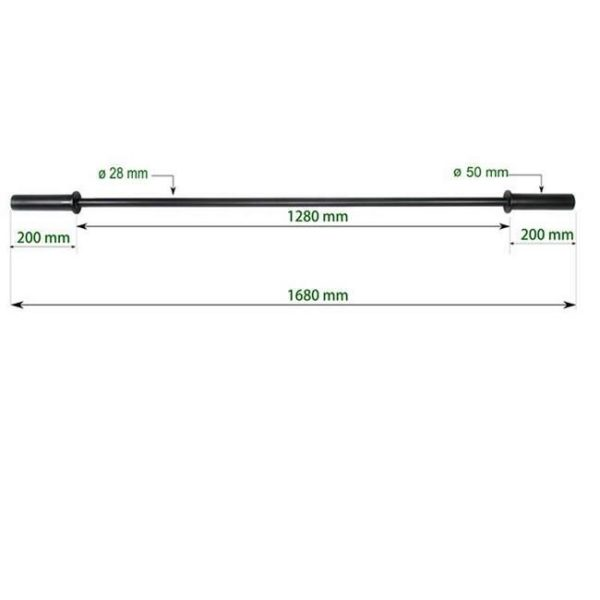 9015/1 Lightweight Intro Barbell